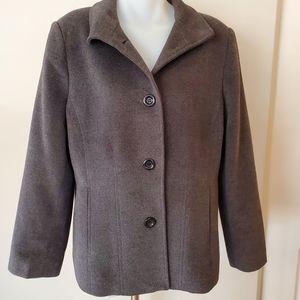 Mulberry Cashmere & Wool Blazer Coat 14